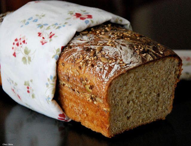 Pan de kamut y espelta. 2 levados