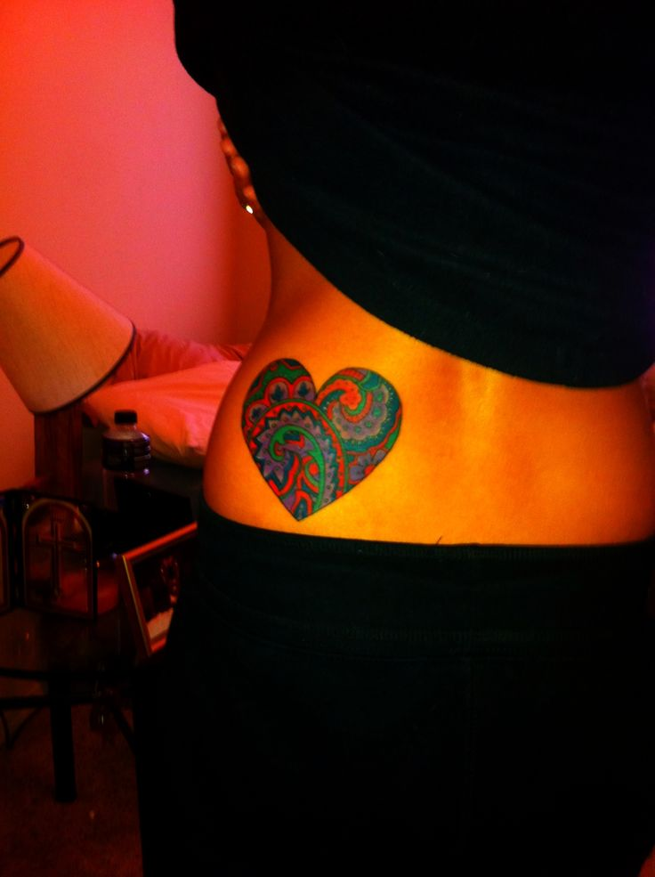 #heart #tattoo #paisley