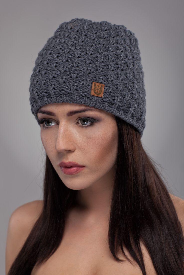 Ulter czapki - Model 30 #ulter #caps #woll #winter #inspiration #fashion