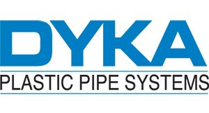 Use the codes inside to save on delivery with DYKA underground drainage products