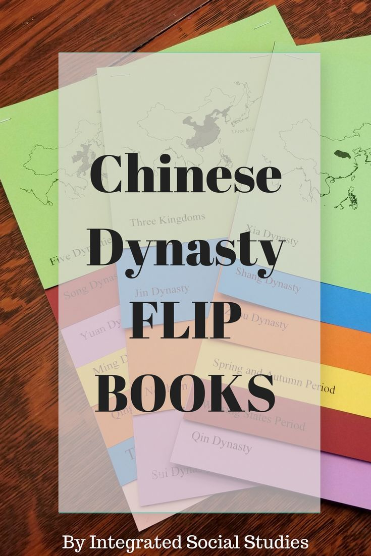 Chinese Dynasty Flip Books are an awesome way for your students to learn about Chinese history. These are musts for world history or Asian history classes! You can choose regular flip books or you can buy them with the dynasty maps included, which is another awesome resource that will help your students understand Chinese history. Check out my TpT store for more details.