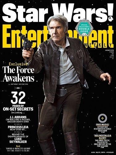 "Harrison Ford estampa capa da revista ""Entertainment Weekly"" na pele de Han Solo"