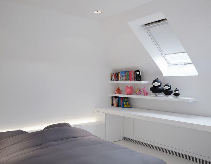 kinderkamers onder dak Minus < interieurarchitecten & interieurinrichters >