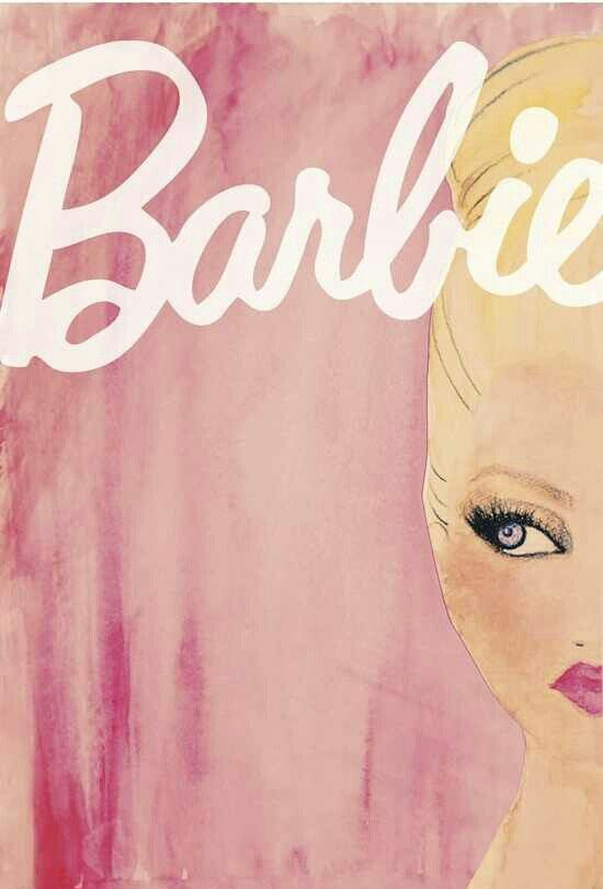 Vintage Barbie art