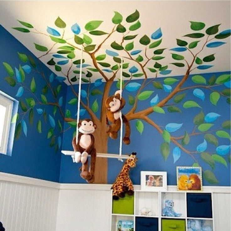17 Best Ideas About Jungle Room Themes On Pinterest
