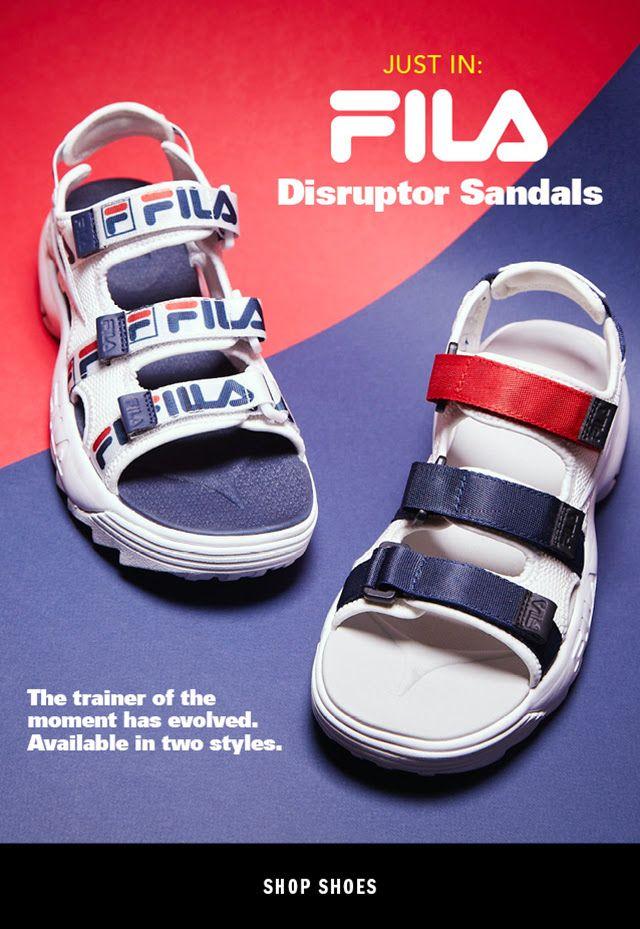 07f0fefb913a FILA Disruptor Sandals