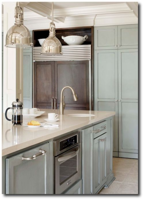 Kitchens Painted With Gray Tones Painting Furniture In
