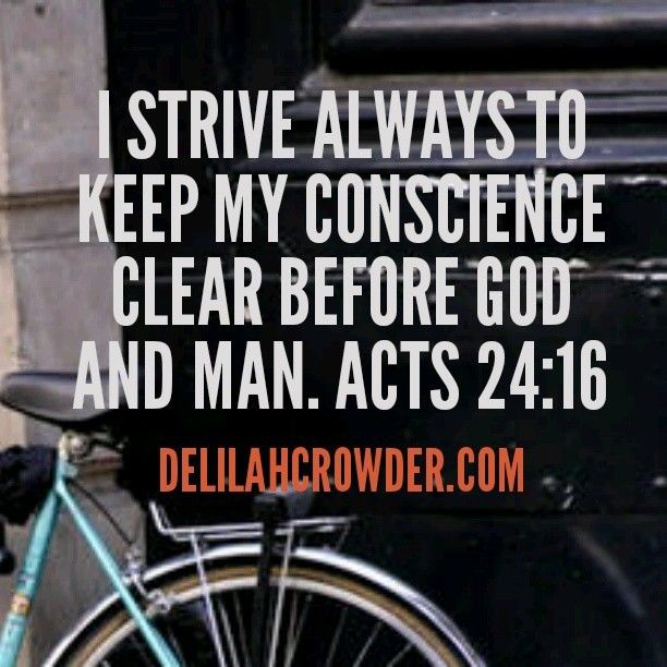 Acts 24:16