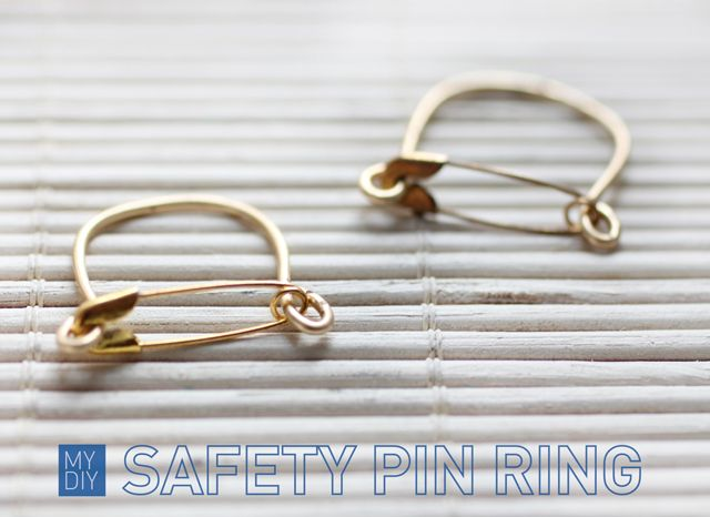 Safety pin ring.: Mi Diy'S, Crafts Idea Diy'S, Spy Diy'S, Pin Rings, Safety Pin, Diy'S Safety, Diy'S Jewelry, I Spy, Handmade Jewelry