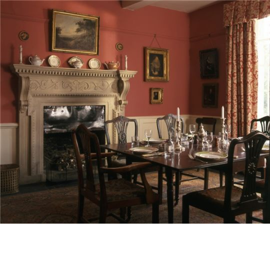 eating room at Beckside House
