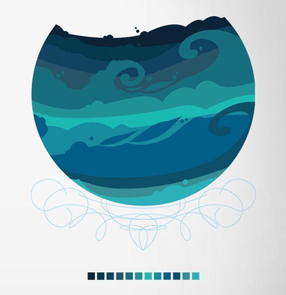 Ocean by kelly chilton
