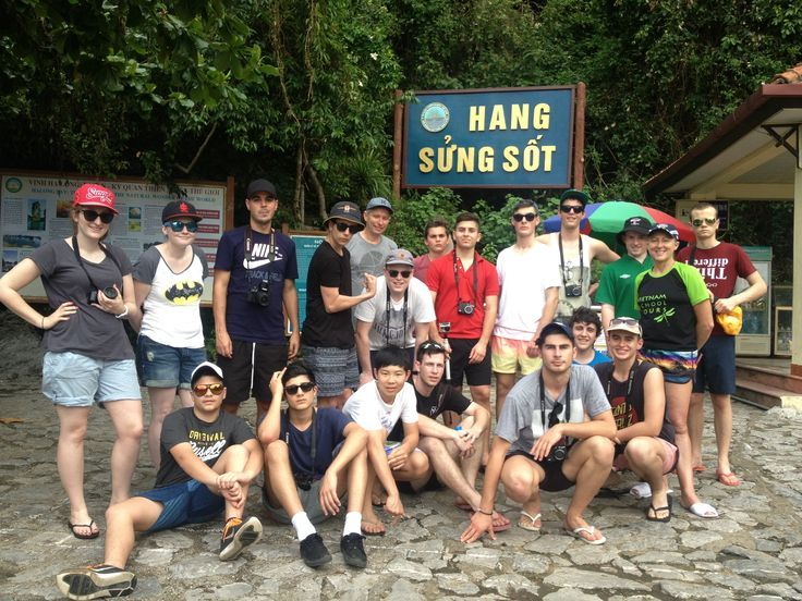 Sung Sot Cave is one of the most beautiful caves in #HalongBay. #VietnamSchoolTours