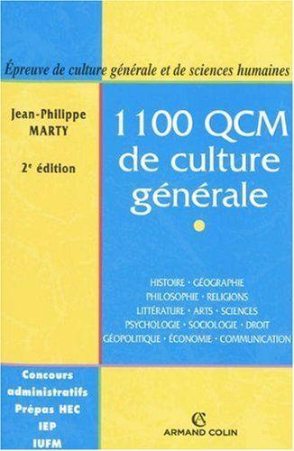 1100 QCM de culture générale : Catégories A et B