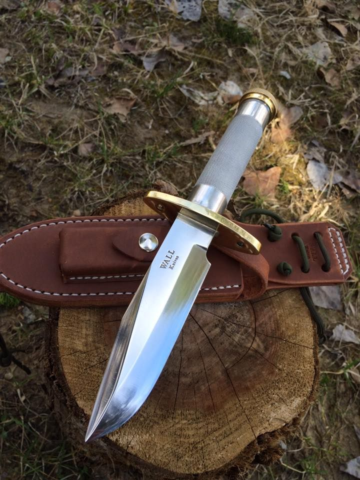 Greg Wall Hollow Handle Survival Knife (Randall style)