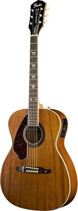 Fender Tim Armstrong Hellcat Left Handed Concert Acoustic-Electric Guitar