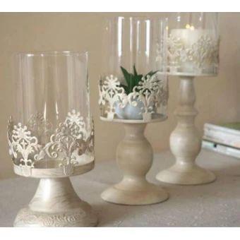 รีบเป็นเจ้าของ  Size M Candle Power Dinner Props Romantic Wedding CandlesticksRestoring Ancient Ways Furnishing Artical Candle Holders - intl  ราคาเพียง  469 บาท  เท่านั้น คุณสมบัติ มีดังนี้ Size:M 11cm * 28 CM Metal Type:Iron Material:Metal 3pcs set(sale price) Type:Candlestick Holder