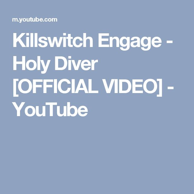 how to play holy diver youtube