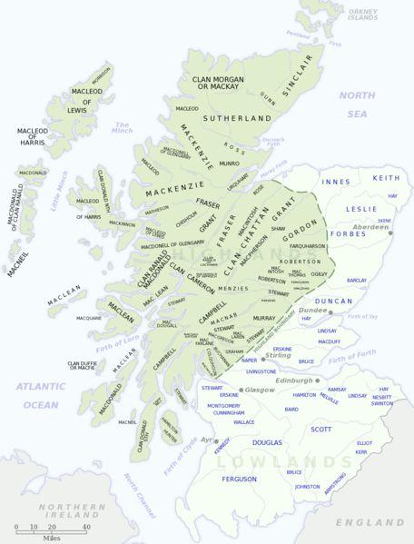 clansAncestry, Genealogy, Scotland, Scottish Highlands, Free Encyclopedia, Lowland Scots, Clans Maps, Families History, Scottish Clans