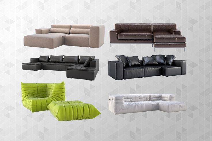 Free 3d models sofas lumion visualizations pinterest for Sofa bed 3d model