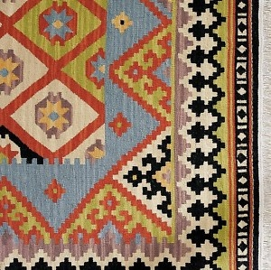 Pottery Barn Tracy Kilim - bought this for the new dining room. Gorgeous!