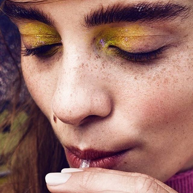 When life gives you lemons put them on your lids via @caitlinwooters #mua #makeupartist #beautyphotographgy #yelloweyeshadow #eyeshadow #eyesonpoint #eyemakeup #eyeconic #makeupart #makeupinspo #freckles #skinisin #lookoftheday #closeup  via TUSH MAGAZINE OFFICIAL INSTAGRAM - Celebrity  Fashion  Haute Couture  Advertising  Culture  Beauty  Editorial Photography  Magazine Covers  Supermodels  Runway Models