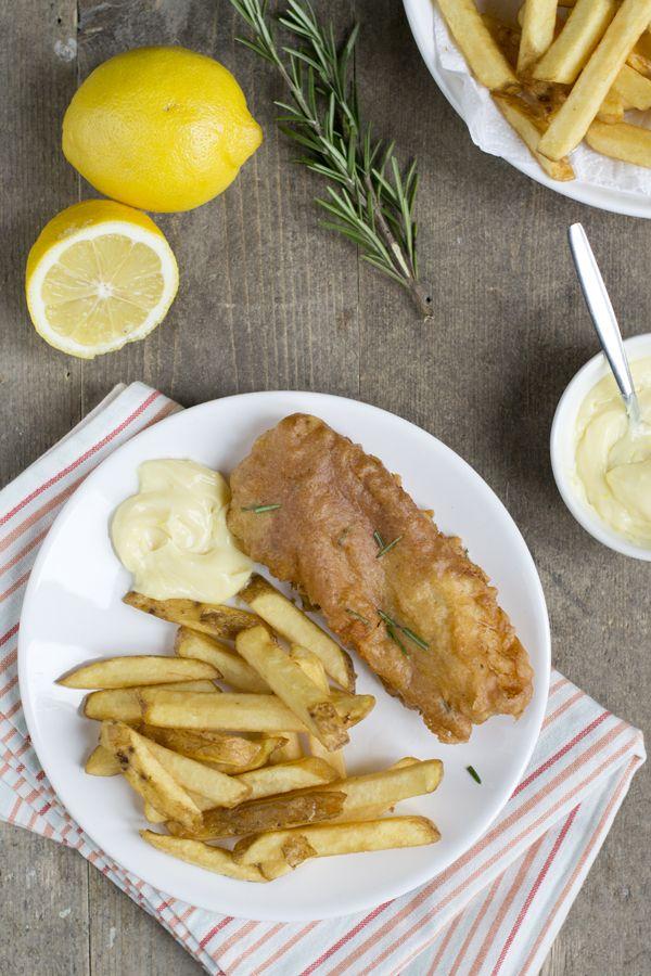 Gekruide fish & chips met citroenmayonaise   recept via Brendakookt.nl