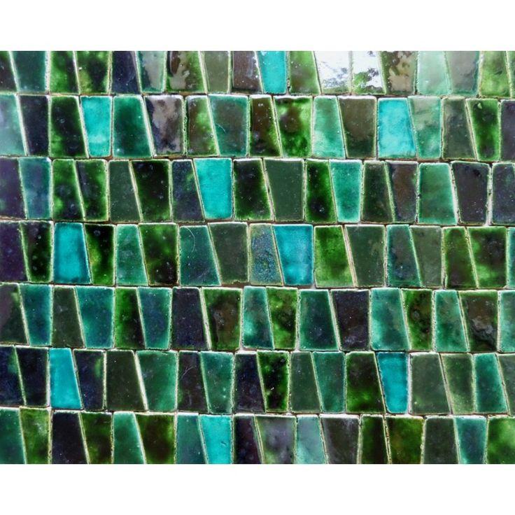mozaika pod prysznicem