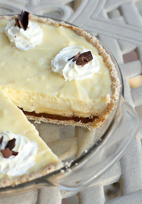 Custard pies, Custard and Fudge on Pinterest