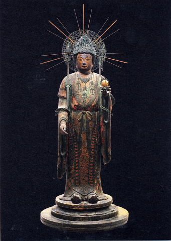 Japanese National Treasure, Statue of Kisshoten 吉祥天像(法隆寺) Buddha , Statues and Icons : More At FOSTERGINGER @ Pinterest