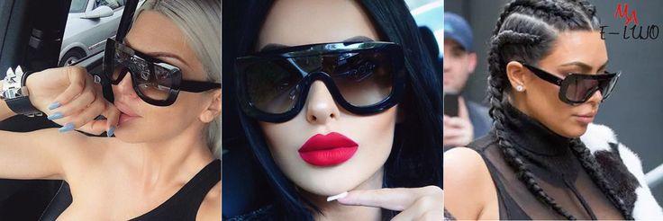 Lentes de sol marca: WINLA. Tipo de artículo: Gafas. Número de modelo: AF2338. Material del marco: Aleación. Material de las lentes: Policarbonato. Atributo óptico de las lentes:Gradiente,Uv400. Anchura de Lente: 50 mm. Altura de Lente: 60 mm. Género: Femenino.