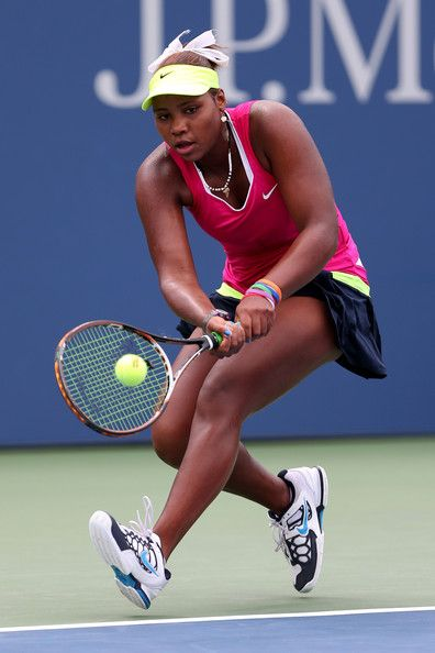 Taylor Townsend | Taylor Townsend Taylor Townsend of the United States plays during Day ...