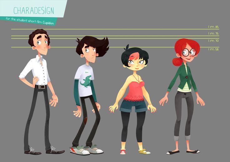 Character Design Challenge On Facebook : Lemon pie ★ character design references https