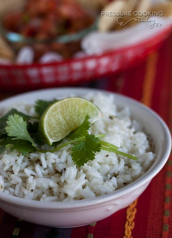 Cilantro-Lime-Rice-Pressure-Cooking-Today Pressure Cooker … use canola instead of vegetable (soybean) oil