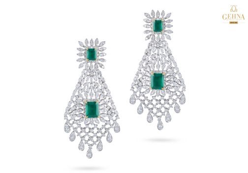 Let's start this week with gorgeous diamonds and emeralds, shall we?
