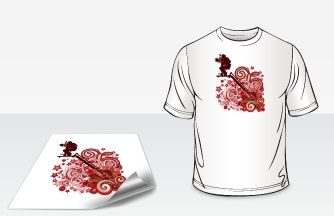 #T-Shirt Transfers are the 4-color digital printing,printed on white heat transfer paper at #Blackpine. blackpineprinting.com