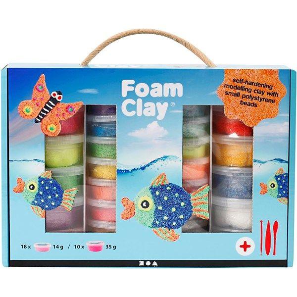 Foam Clay Modellera Presentask Mix 1 Set
