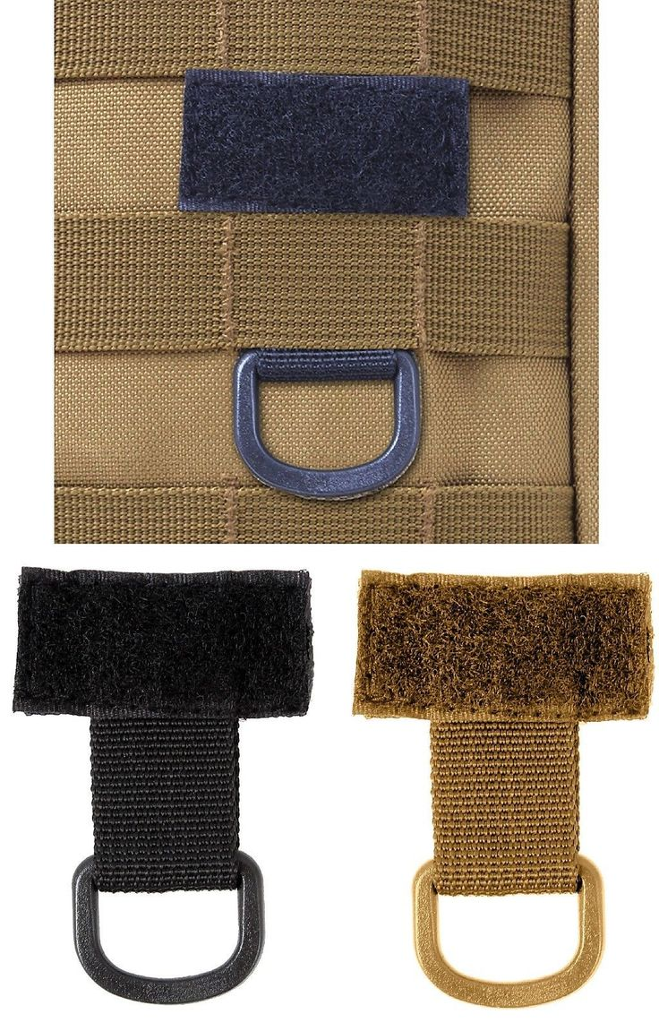Handy MOLLE Tactical T-Ring with D-Ring Attachment - Add To Gear To Carry More