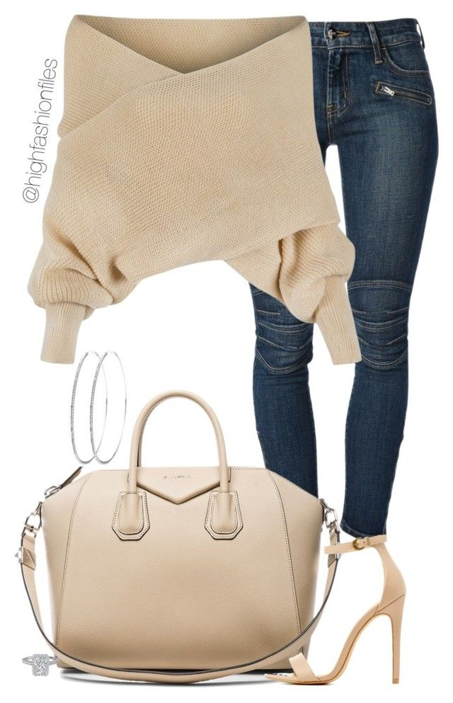 """Day Time Style"" by highfashionfiles ❤ liked on Polyvore featuring Koral, WithChic, Givenchy and Charlotte Russe"