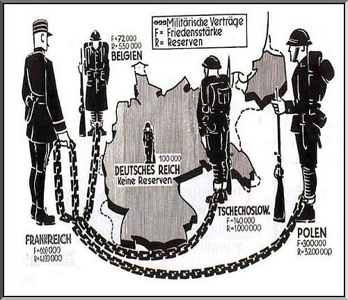 Treaty Of Versailles Political Cartoons | ... : BE THERE: The unfair Treaty of Versailles laid the seeds of WW2