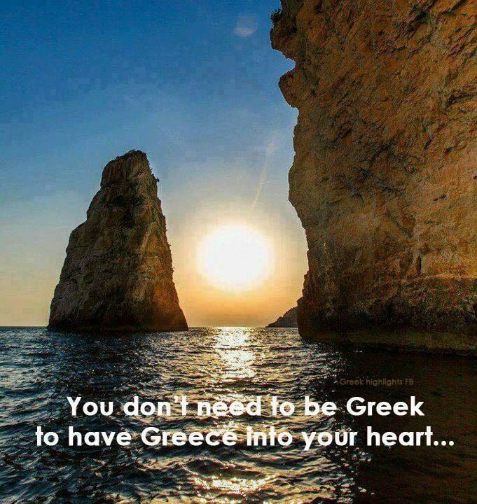 You don't need to be Greek to have Greece in your heart..