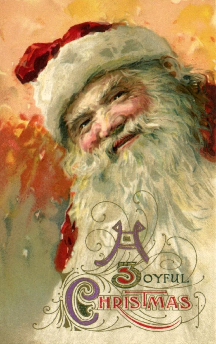 2260 best santa paintings images on Pinterest   Father christmas ...