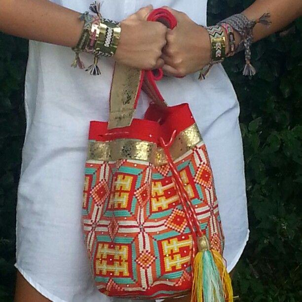 Mochila Wayuu.