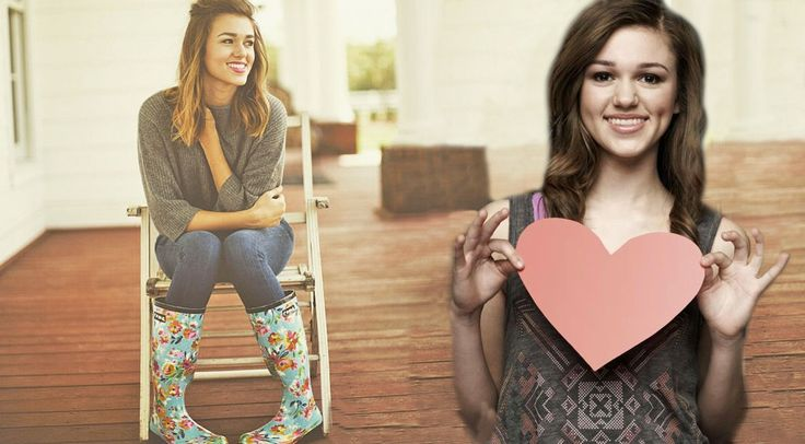 Country Music Lyrics - Quotes - Songs Sadie robertson - Sadie Robertson Uses Her Fame For Good With New Rain Boot Line - Youtube Music Videos http://countryrebel.com/blogs/videos/49250947-sadie-robertson-uses-her-fame-for-good-with-new-rain-boot-line