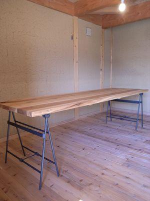 折りたたみテーブル金物 : 金属造形工房のお仕事