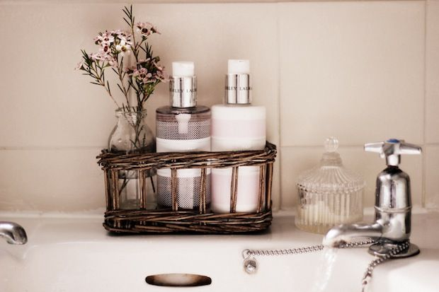The next stage in Barri + Belles's Bathroom Makeover on the Laura Ashley blog.