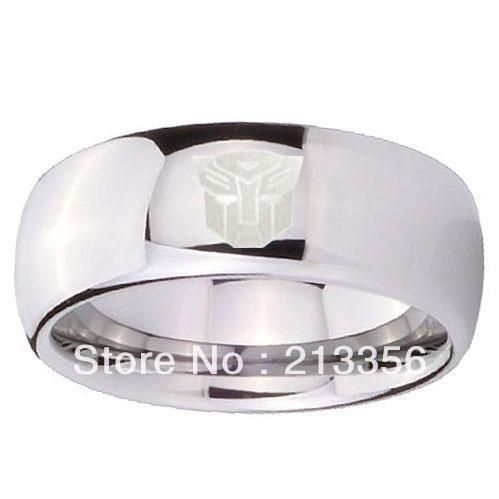 Free Shipping!Wholesales Price!USA Hot Selling Men's Tungsten Carbide Rings Silver Autobots/Black Decepticon/New GOLD Predacons