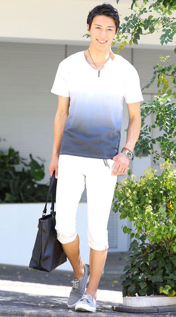 真夏8月の服装例 着こなしコーディネートポイント - 大人のファッションカレッジ