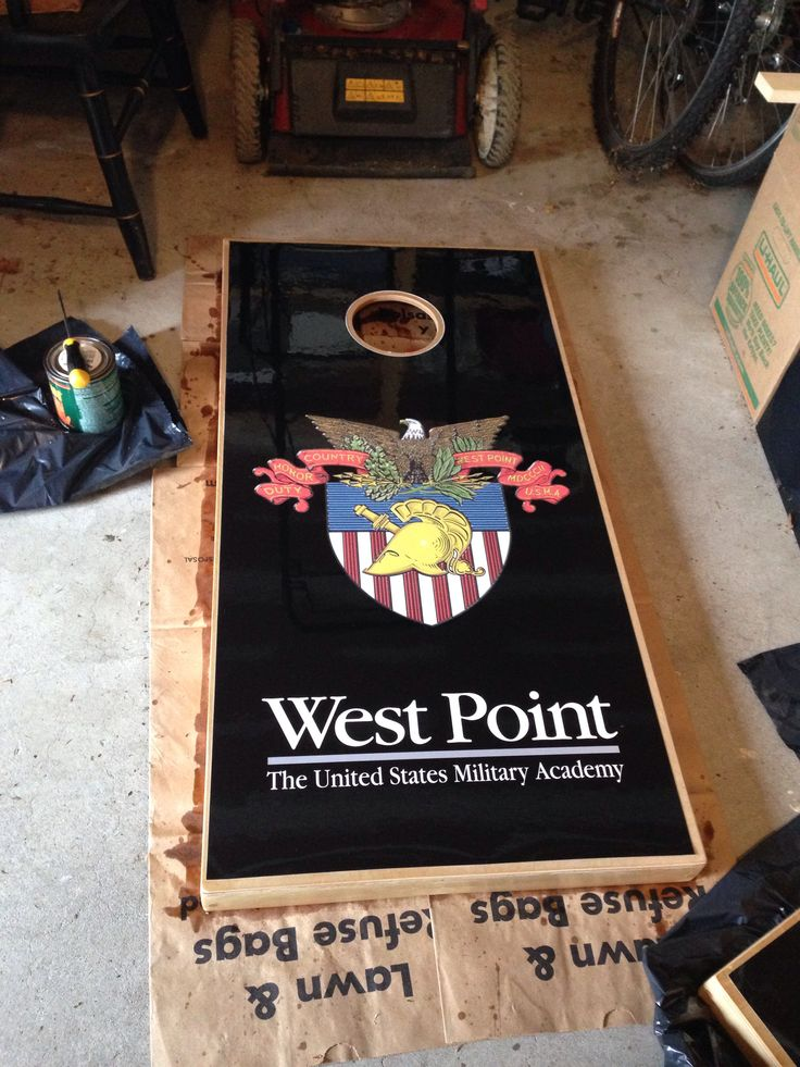 West Point Corn Hole Diy Pinterest Inspired Army