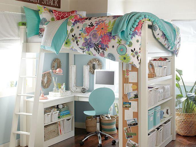 Tropical Garden Loft Bedroom