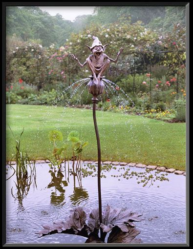 a David Goode sculpture..perfect in my garden!